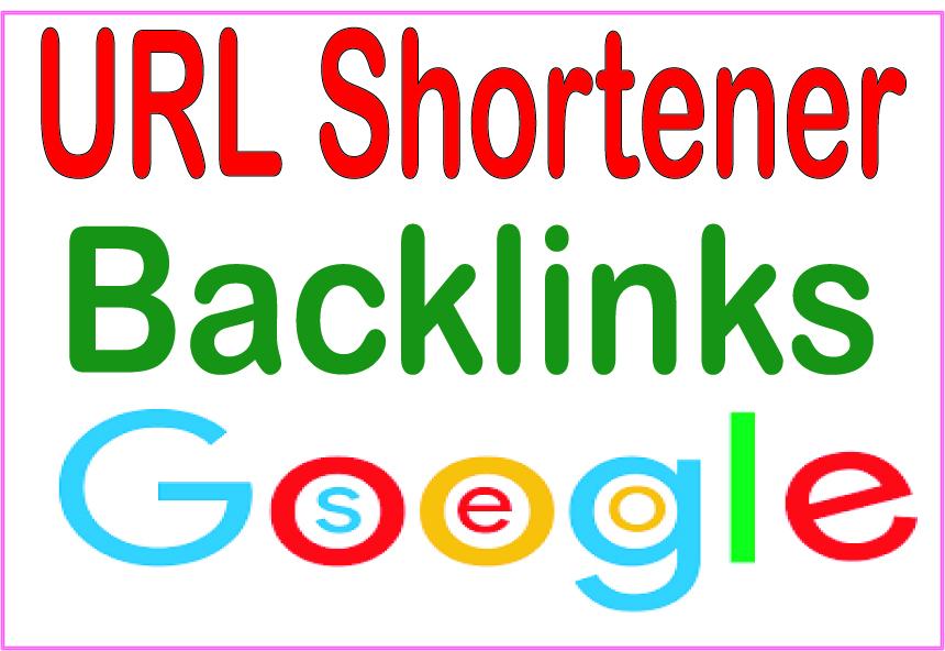 Get you 3000+ HQ PR URL shortener Backlinks