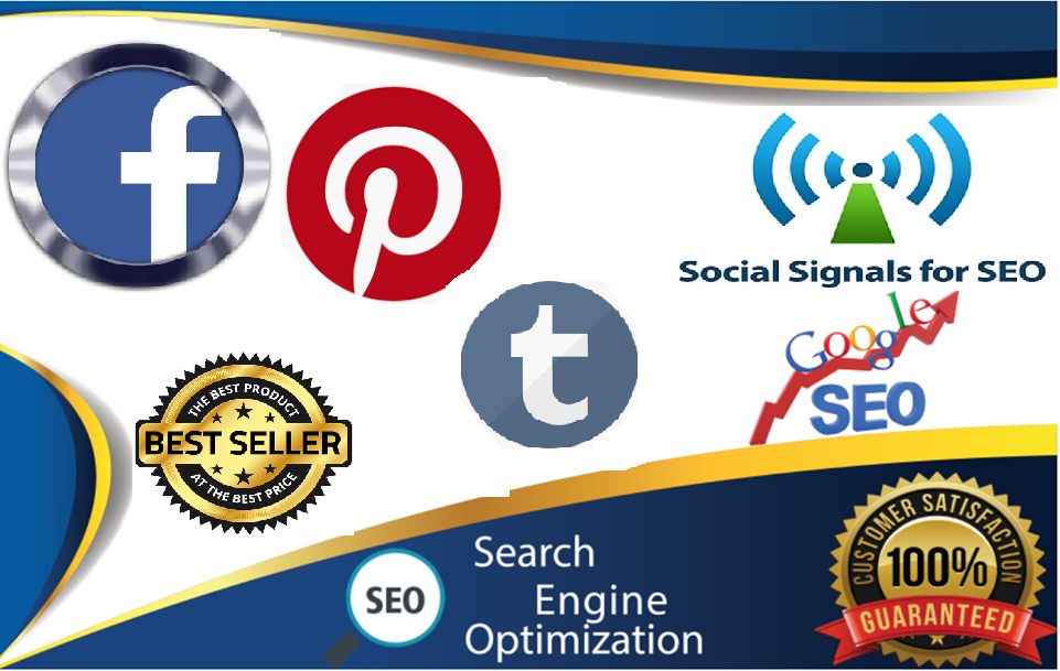 TOP No3 Social Media Best Sites 12,500+ Mixed Seo Social Signals Bookmarks Important Google Ranking Factors