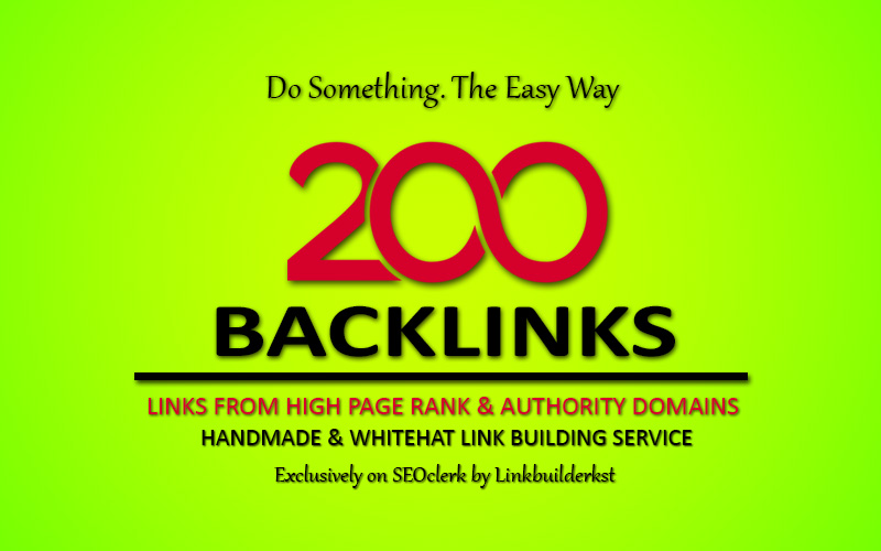 200+ High Quality Backlink For increase Traffic To Your Site