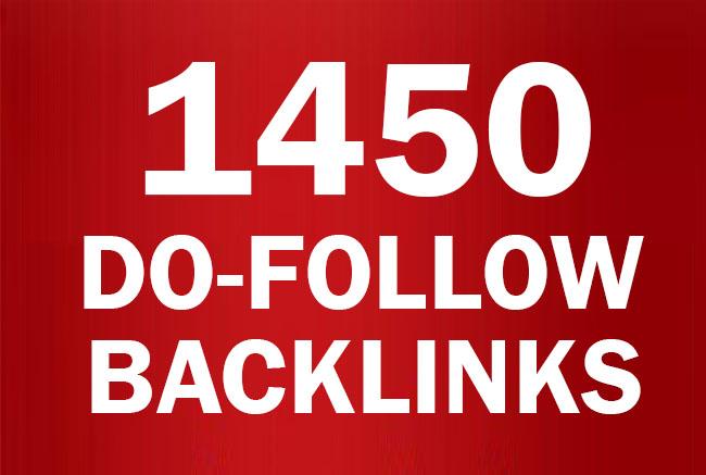 1450+ Do follow Blogs Backlinks high PR-0 - PR-9 And DA 80+ / Blast Your SEO Ranking