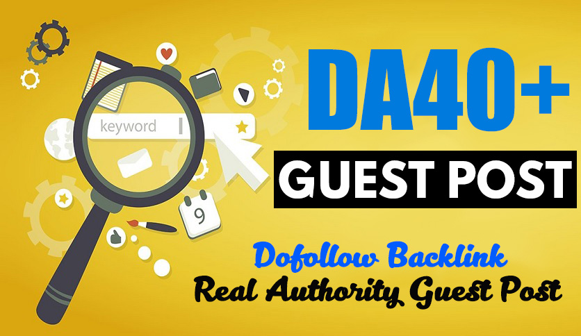 Publish a Guest Post on DA40+ Blog