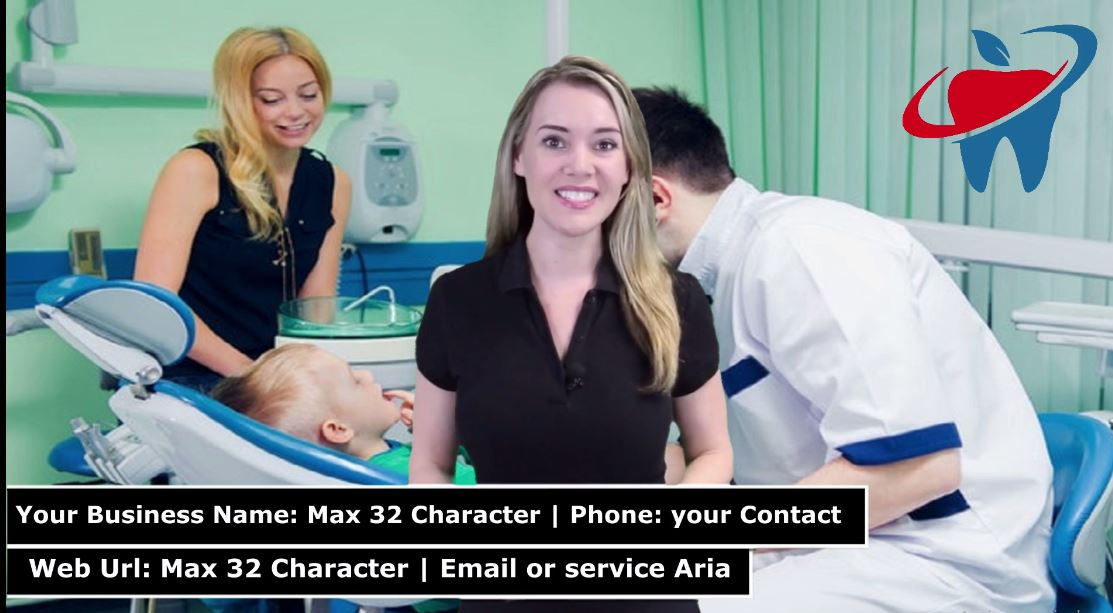 Create Spokesperson Promo Video For Dentist