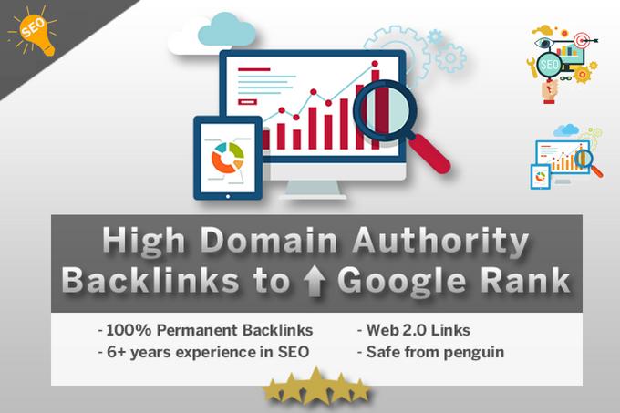 Create 25 High Domain Authority Backlinks To Improve ...