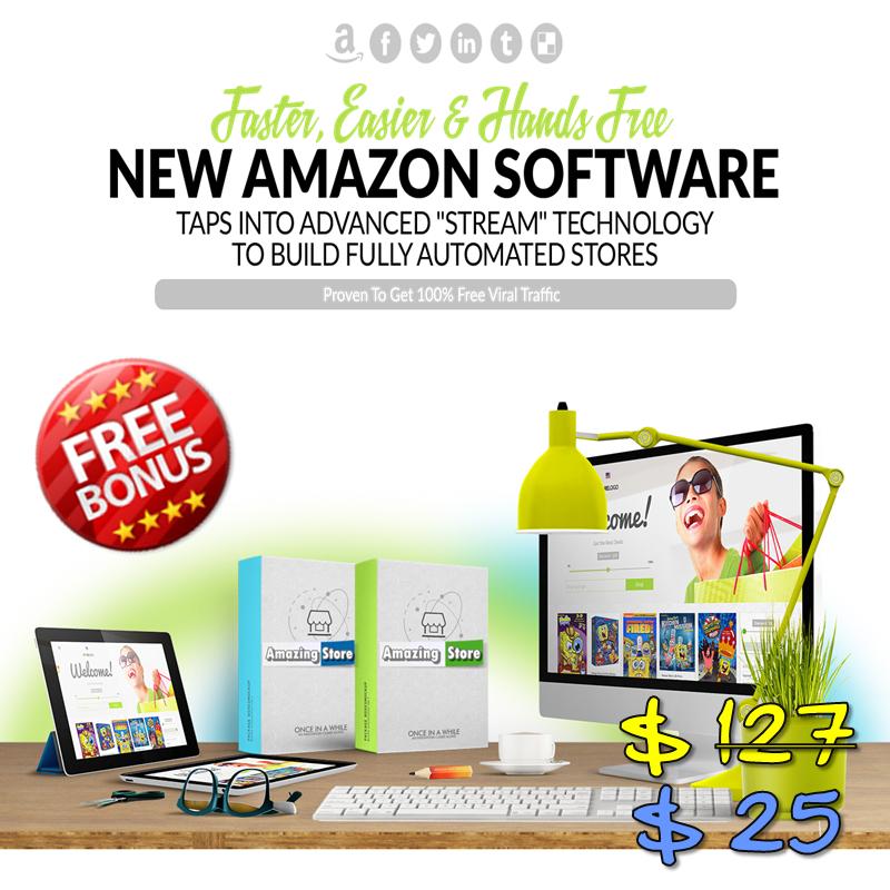 Amazon Stream Store - New Automation Techology For Amazon Affiliate