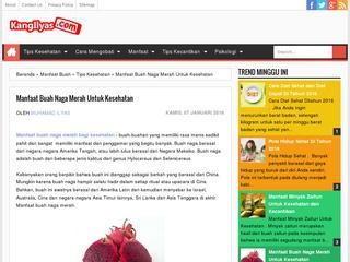 Manfaat Buah Naga Merah Untuk Kesehatan