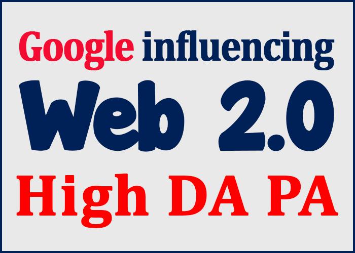 Create Over 20+ Web 2.0 Profile Backlinks On High Pag...