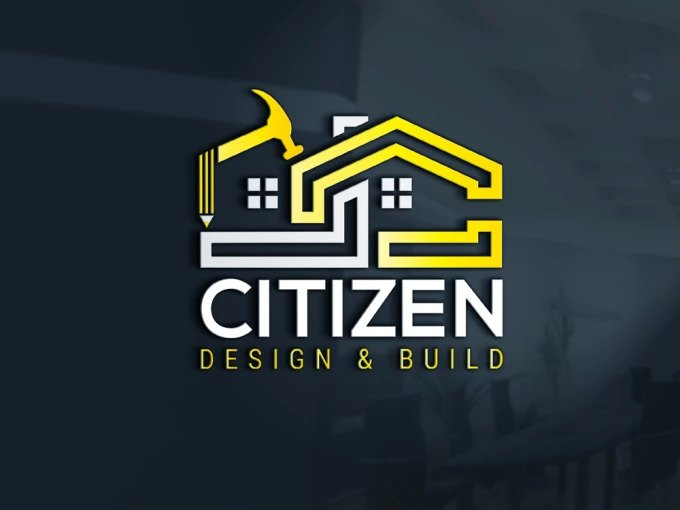 Design Real Estate Property Construction Logo