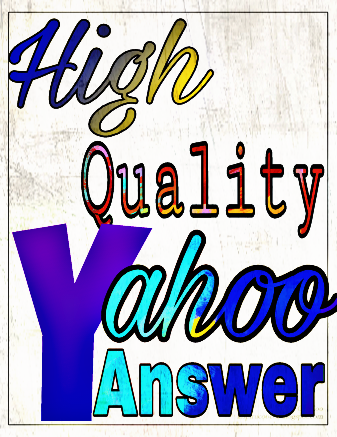 Promote your website 10 high quality yahoo answer
