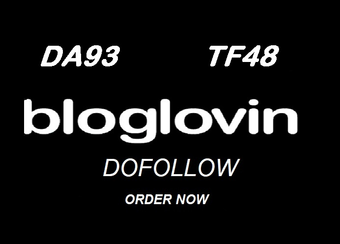 Publish Guest Post on Bloglovin DA93 TF49 - DOFOLLOW BACKLINK