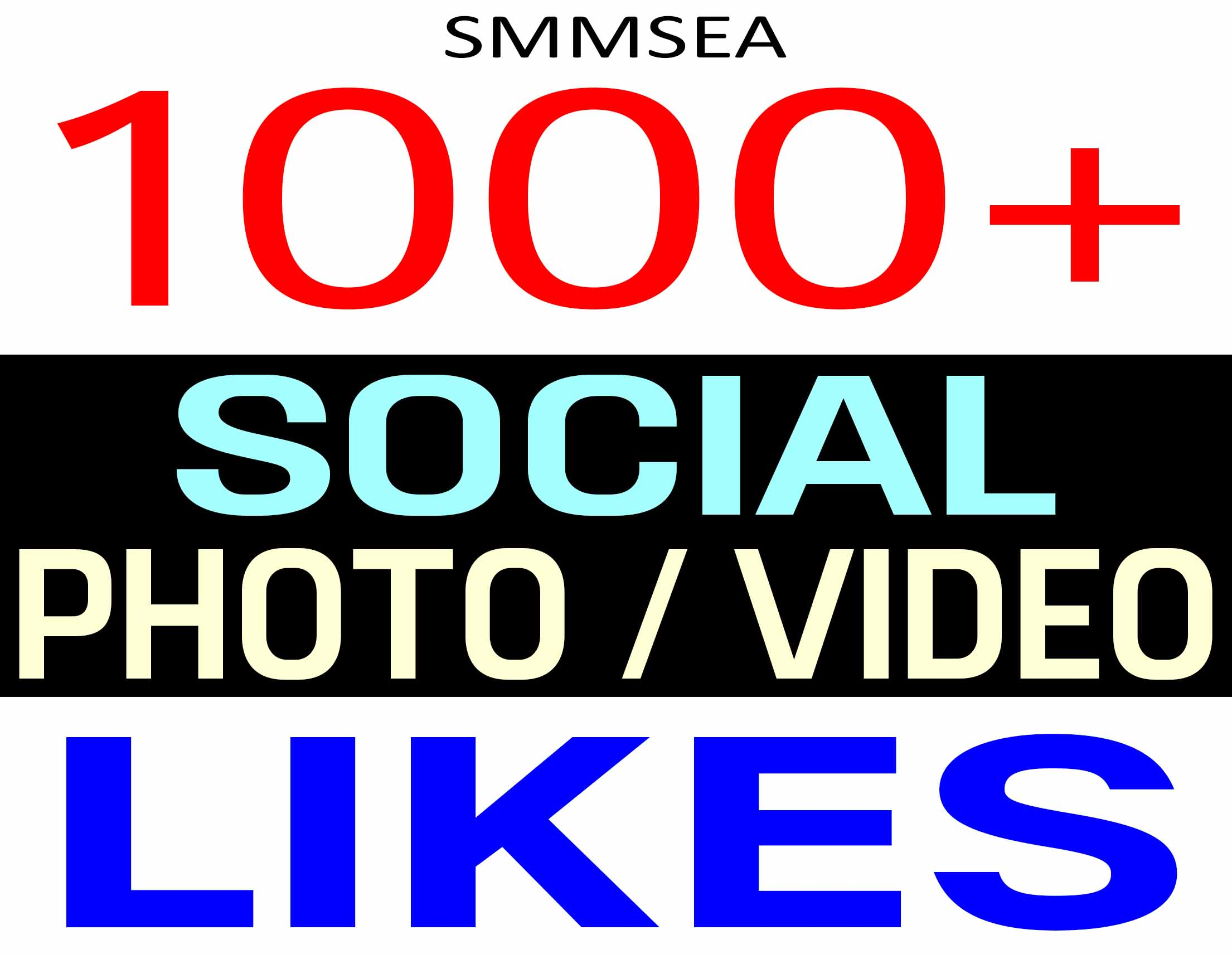 ADD 1000+ SOCIAL PHOTO OR VIDEO PROMOTION REAL ORGANIC AND HIGH QUALITY WITH NON DROP GUARANTEED