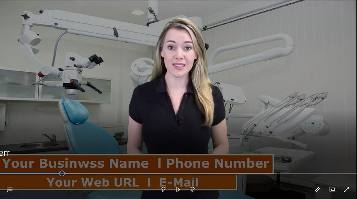 Provide Dentist Spokesperson promo video