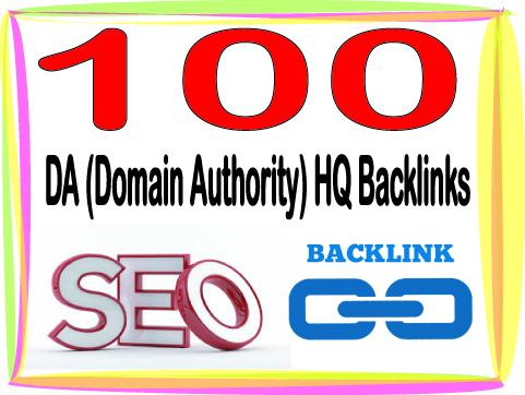 Submit you 100 HQ PR Panda safe Contextual & Unique DA Domain Authority backlinks