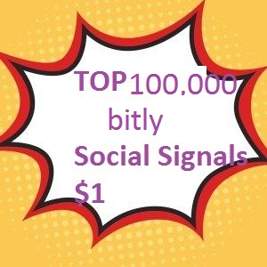 TOP 100,000 bitly Social Signals to Improve SEO and B...