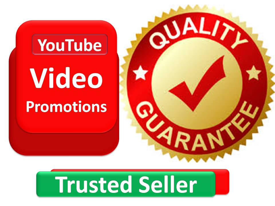 I will do 3000-3500 youtube video promotion with best quality fast service