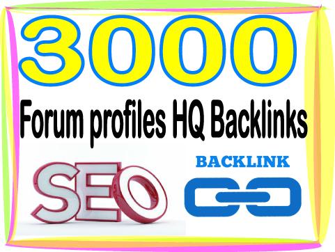 Create Over 3000 HQ PR Panda Safe Forum profiles Back...