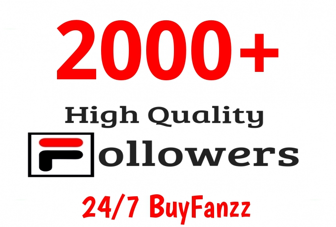 Add Fast 2000+ Profile Followers