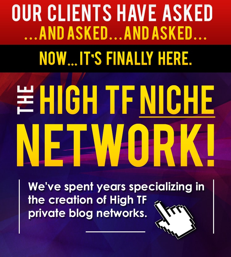 Do 15 High TF CF Permanent Homepage PBN and 1000 2nd Tire Backlinks