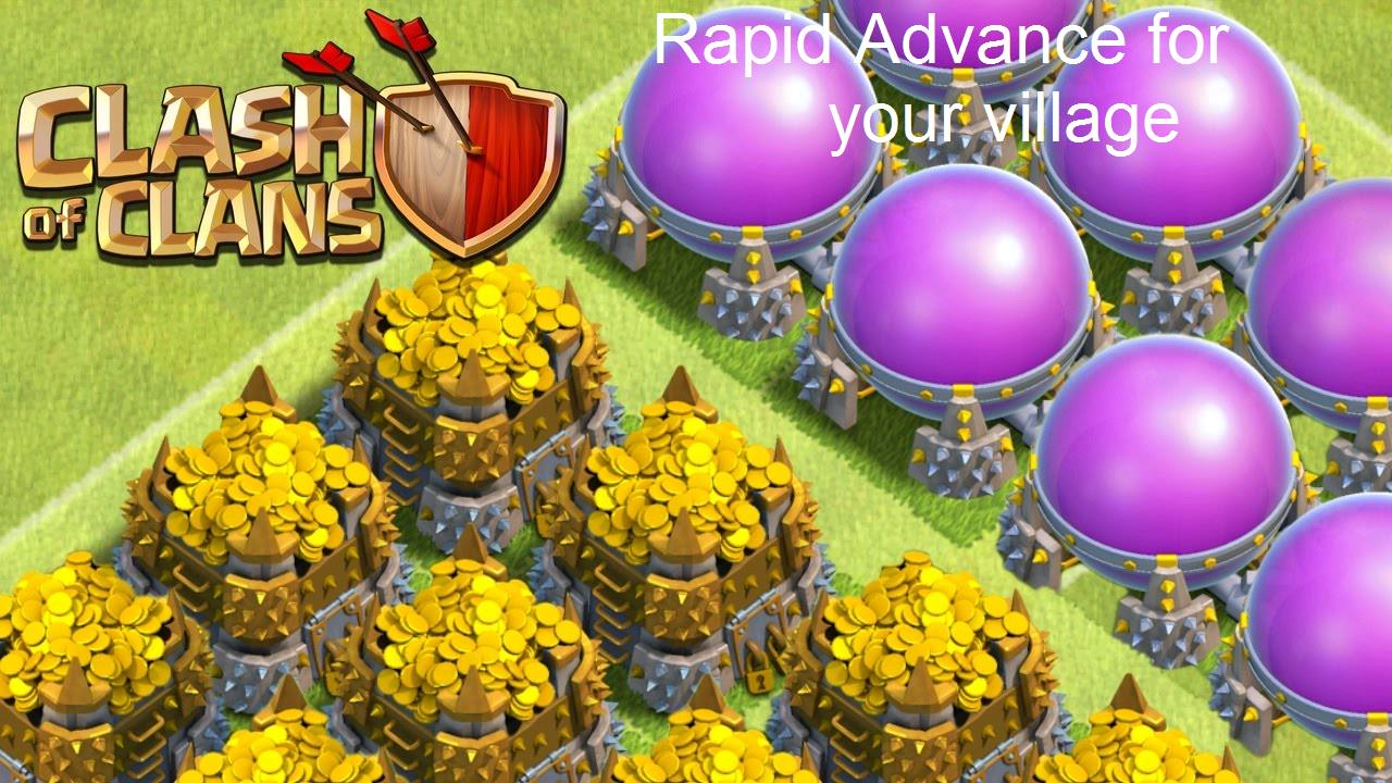 Clash Of Clans Boosting - Farm x30 days GOLD and ELIXIR 14million per day