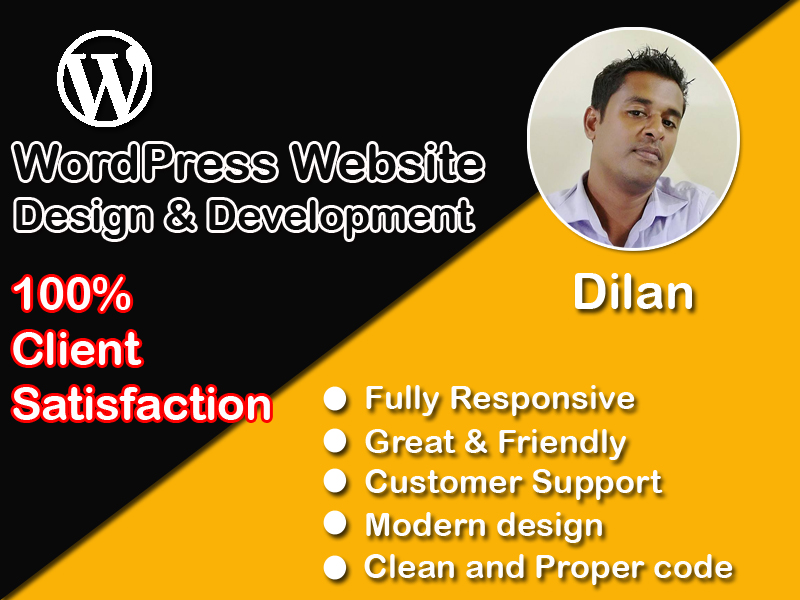 Create Wordpress Website Design Or Blog