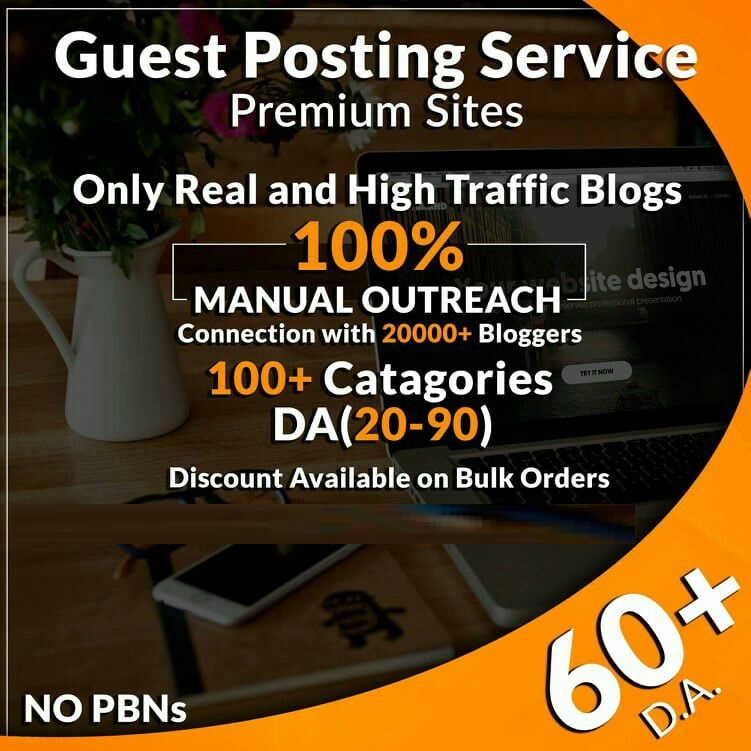 10 High Authority Guest Post DA 50-93 Limited Offer