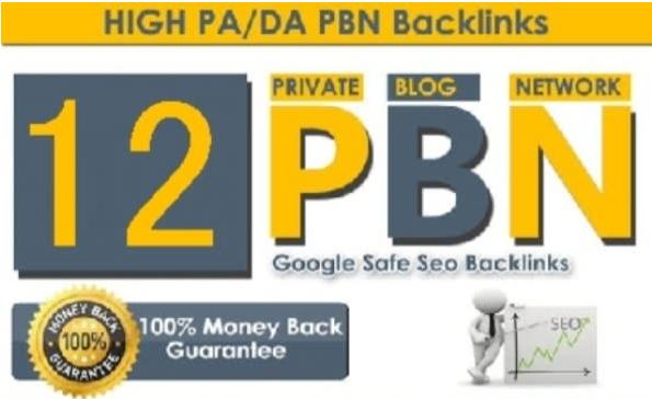 12 Manual Pbn Post Dofollow Backlinks High Quality