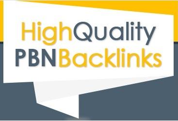 BULID 20 HIGH QUALITY PBN BACKLINKS
