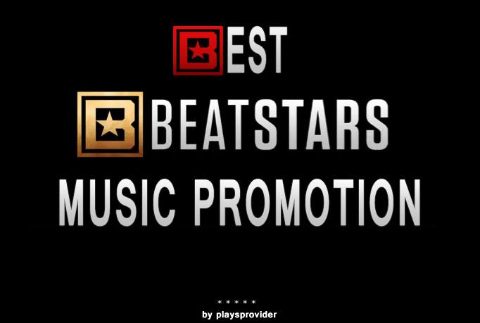 Beatstars 6000 hits,  likes and reups