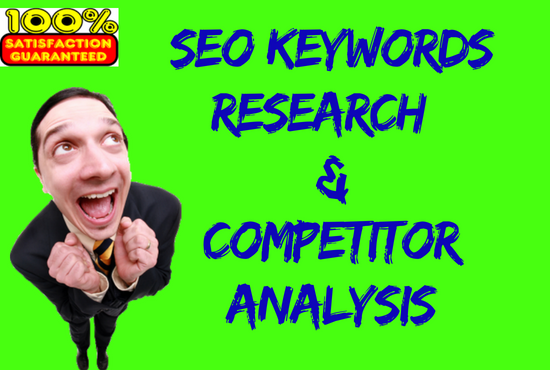 SEO Keyword research & Competitor analysis