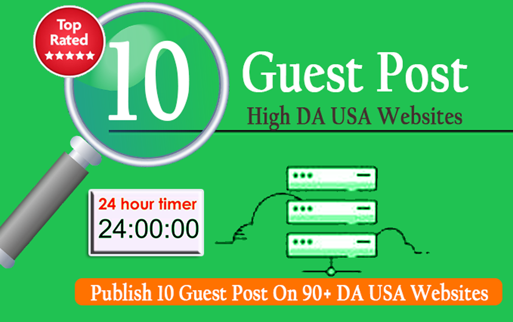 Publish 12 High Authority Guest Post Backlink