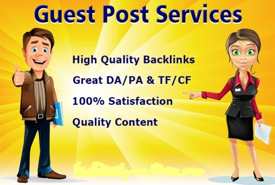 Publish 15 High Authority DA And PA Guestpost Permanent Backlinks