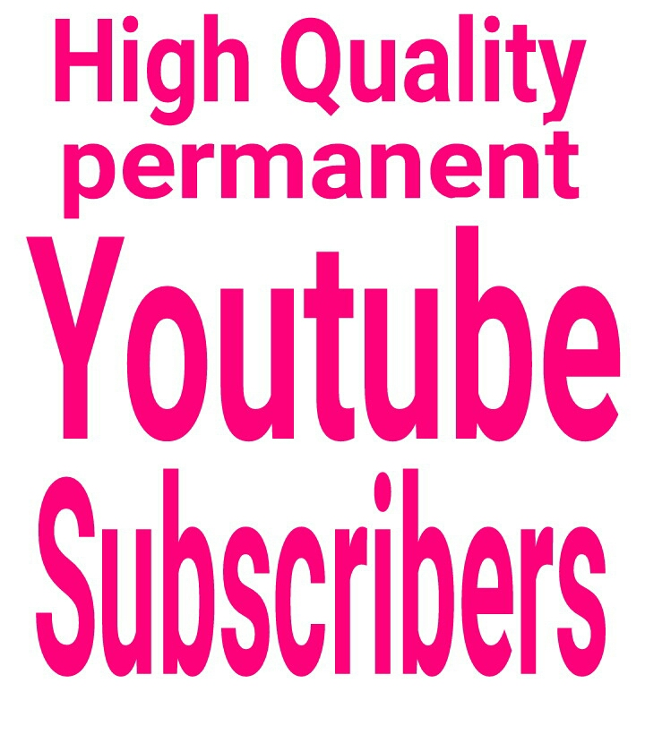 YouTube promotion via real users active and permanent with fast delivery