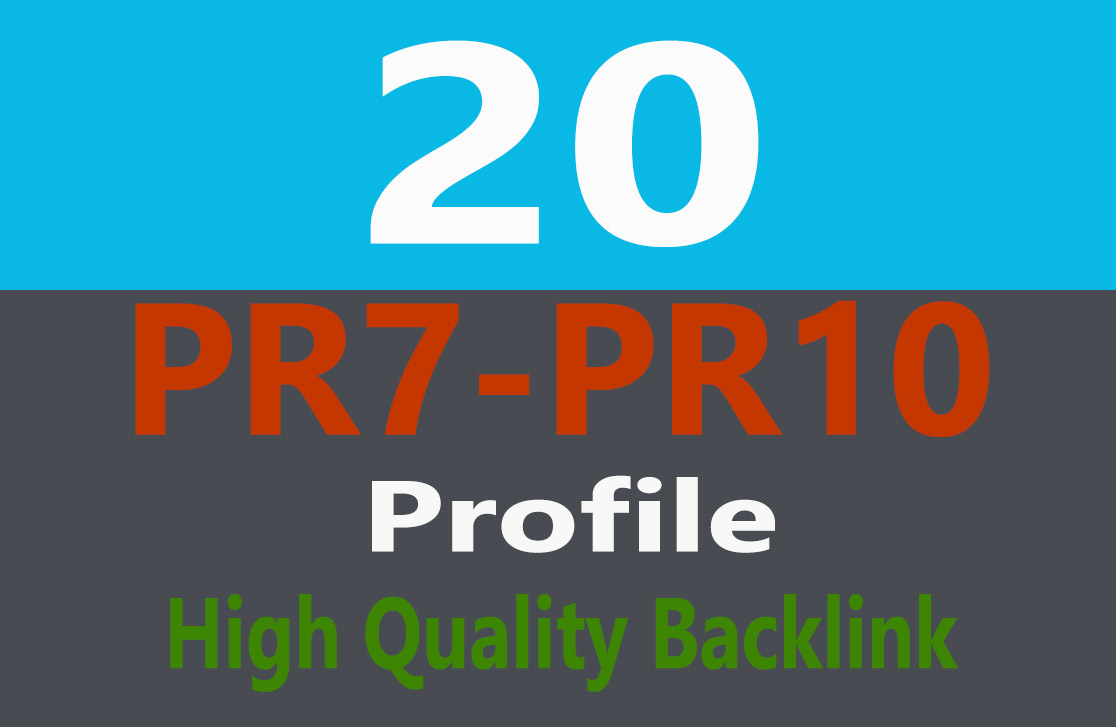 Exclusive Offer 20+ DOFOLLOW High PR7-PR9  BackLinks
