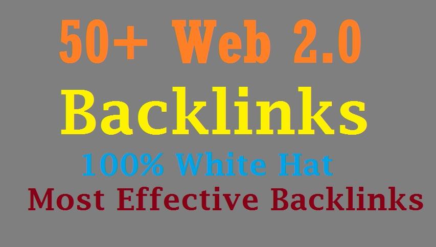 Get 50 Web 2.0 Blog Of Highest Quality & Most Effective Link Building