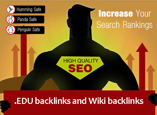Ultimate SEO Package- 100 EDU backlinks and 1000 Wiki...