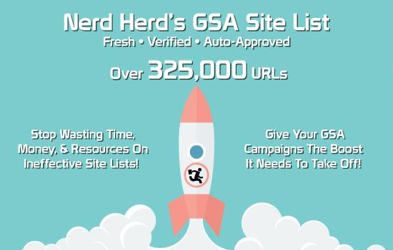 Fresh Gsa Ser Site List 325k Verified 2018