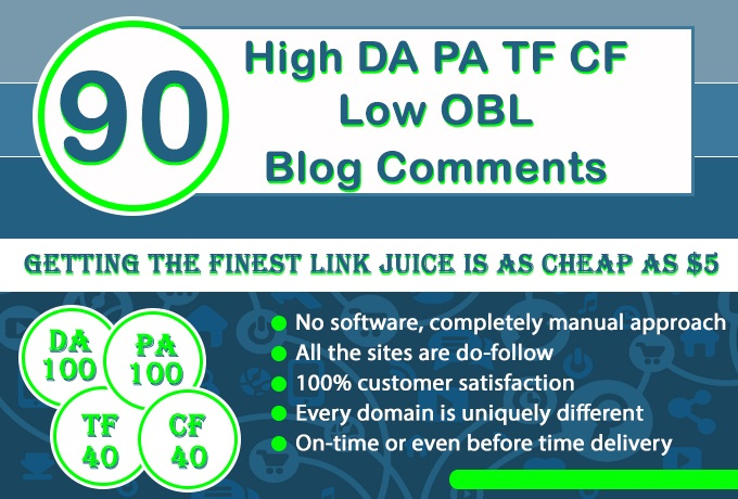 do 90 High DA 100 TF 40 And Low OBL Blog comments