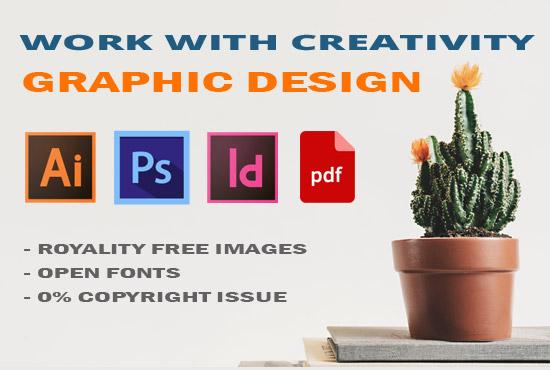 provide complete graphic design work