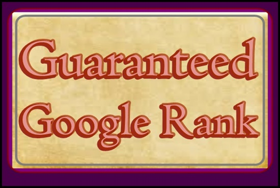 Offer 3 Keywords Google 1st Page Rank
