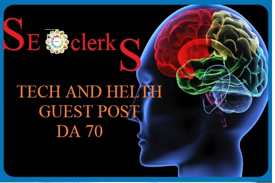 Guest Post On DA70 High Huthority TechHealth Site