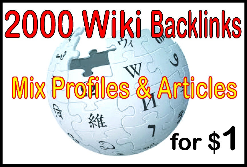 500 Wiki Article Backlink from High Authority Site