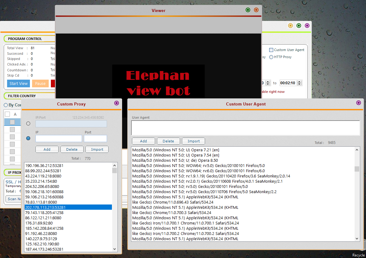 youtube bot - Increase your youtube viewer with ElephanView V.1