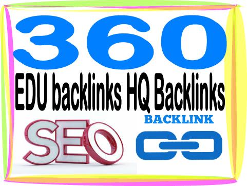 create over HQ PR 360 Contextual. EDU backlinks