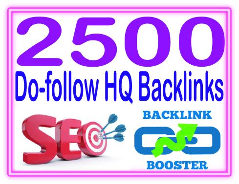 Do 2500 Dofollow backlinks mix platforms High PR Metrics Backlinks