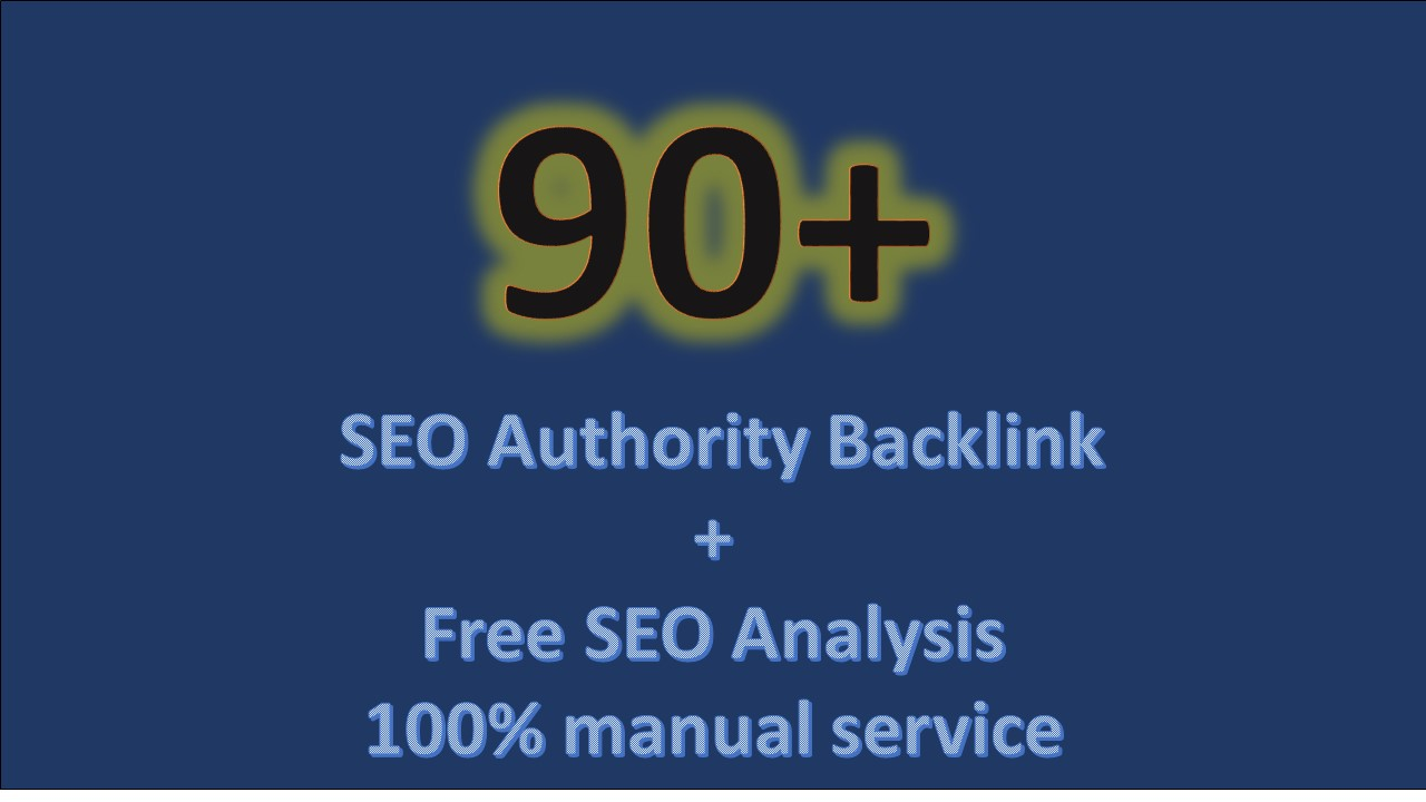 Build High Quality Backlinks Da90 Pa90 And More