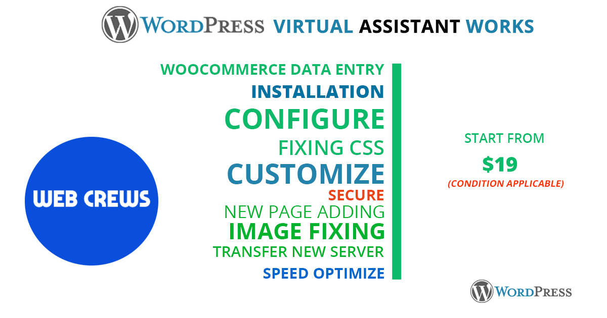 Professional WordPress virtual assistant services