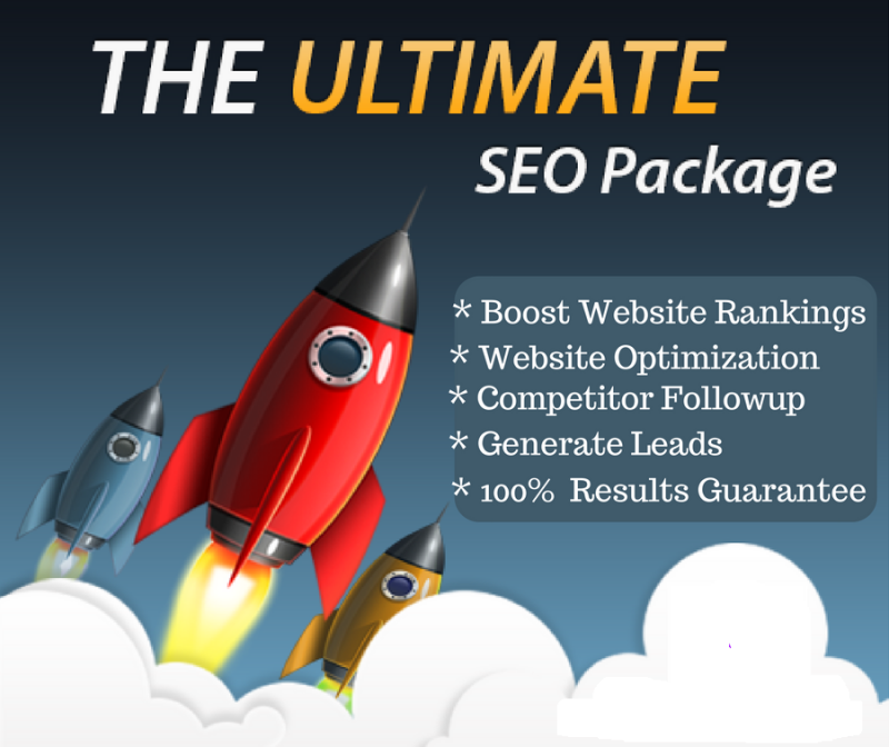 A Complete SEO Package including Onsite and Backlinks