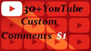 Add 30+ USA You+Tube Custom Com. ment Or 30 Human real Llke