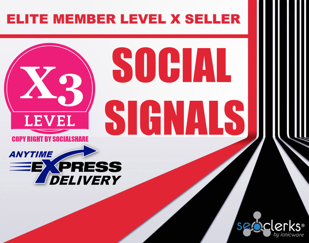 Mixed 30,000 Social Signals Share - For Website Or Vi...