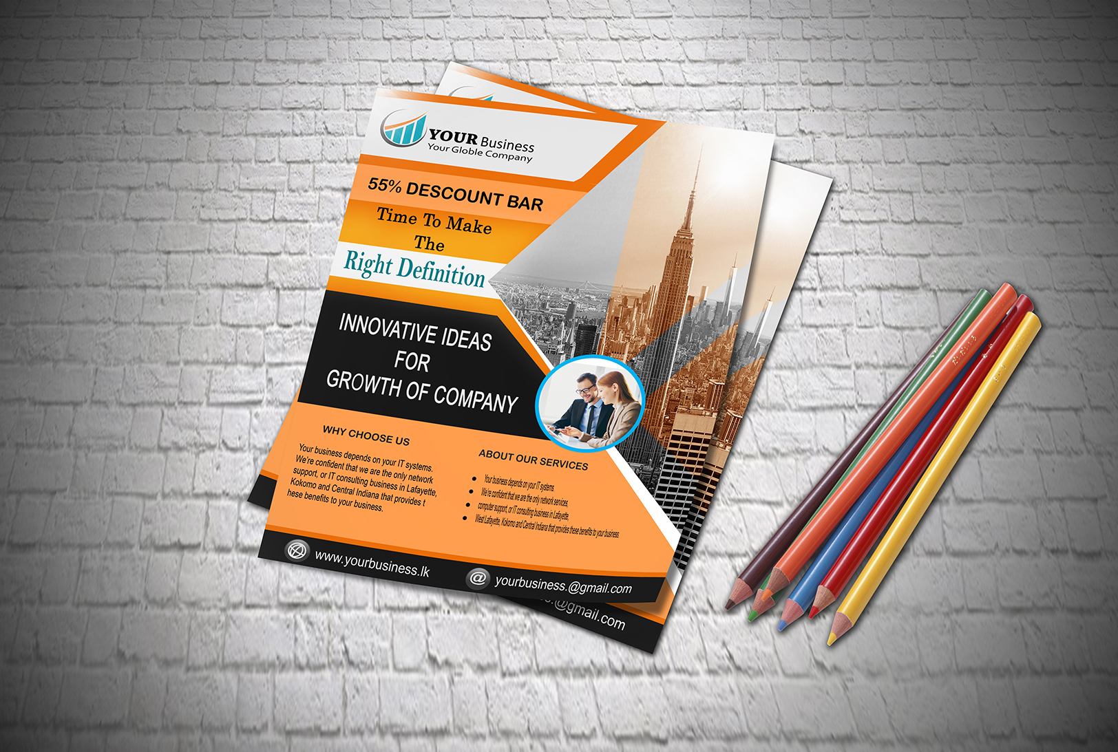 Design Professional Flyer And Banners