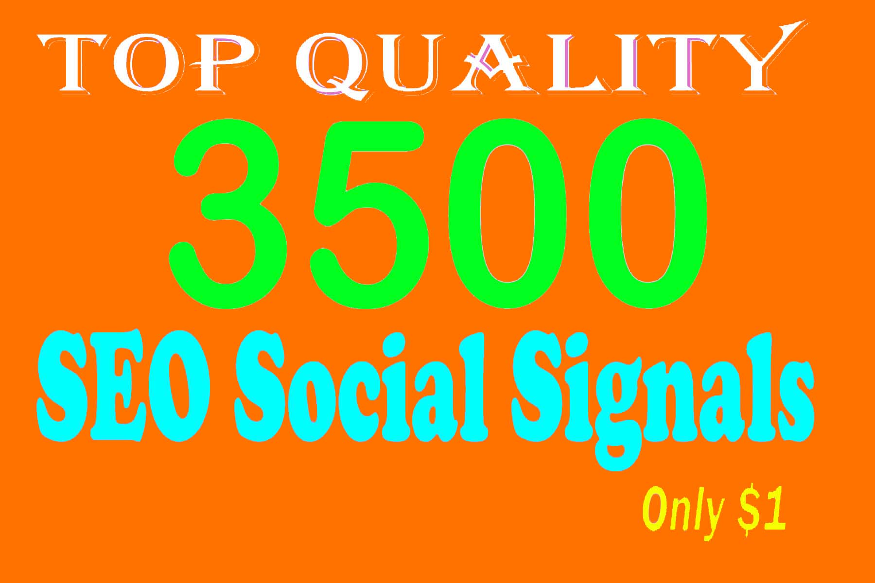 T Q 3500 Strong And Permanent SEO Friendly Social Sig...